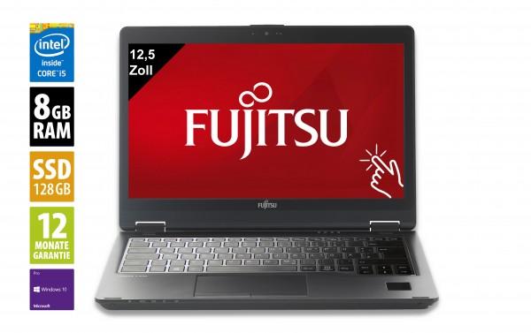 Fujitsu LifeBook P727 - 12,5 Zoll - Core i5-7300U @ 2,6 GHz - 8GB RAM - 128GB SSD - FHD (1920x1080) - Touch - Webcam - Win10Pro - Inkl. Dockingstation