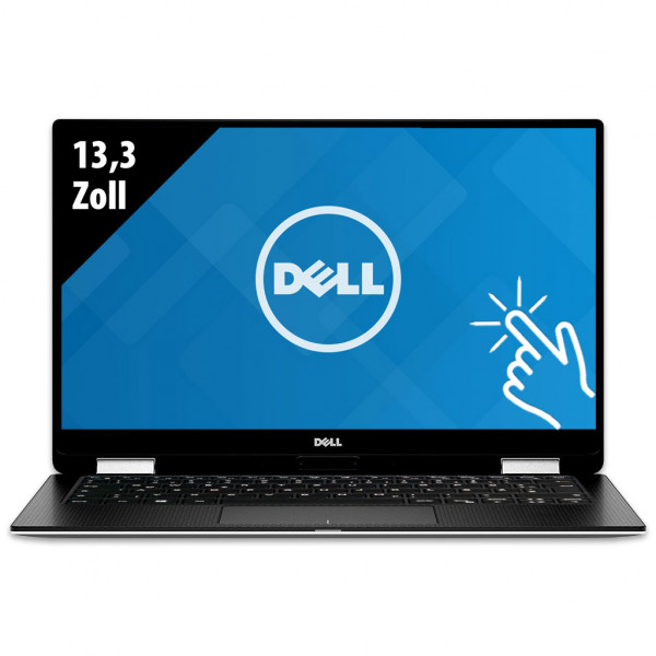 Dell XPS 13 2-in-1 (9365) - 13,3 Zoll - Core i7-7Y75 @ 1,3 GHz - 8GB RAM - 500GB SSD - QHD+ (3200x1800) - Touch - Webcam - Win10Pro