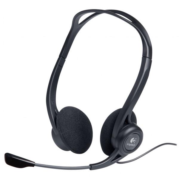 Logitech 960 - Headset - USB - On-Ear - Schwarz