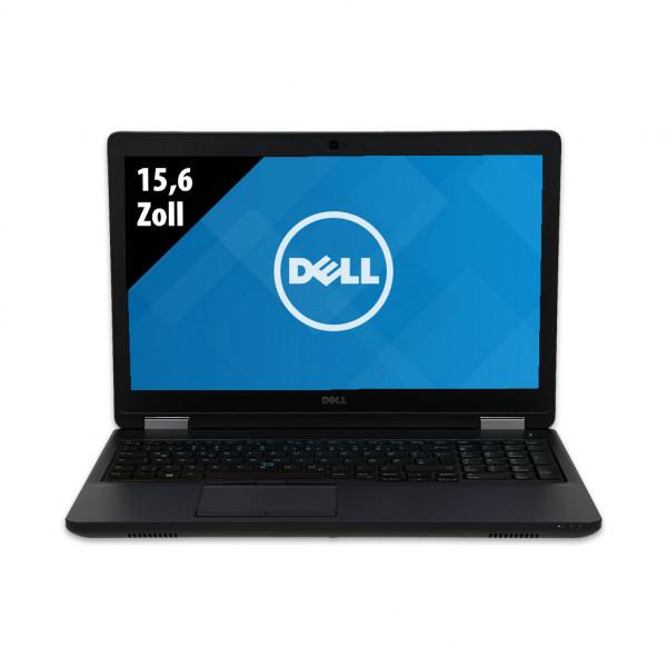 Dell Precision 3510 - 15,6 Zoll - Core i7-6820HQ @ 2,7 GHz - 16GB RAM - 1000GB SSD - AMD Radeon HD 8800M - FHD (1920x1080) - Webcam - Win10Pro