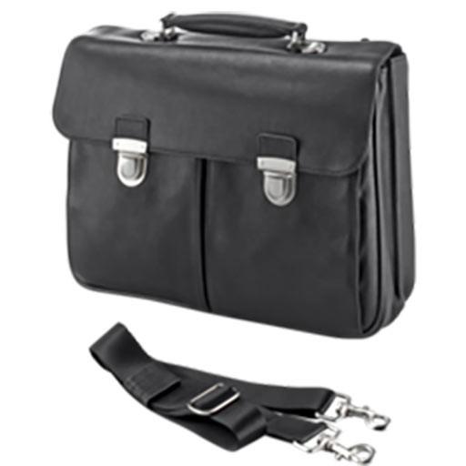 """Fujitsu Notebook Supreme Case - Notebooktasche Sleeve - Leder - 15.6"""" - Schwarz"""