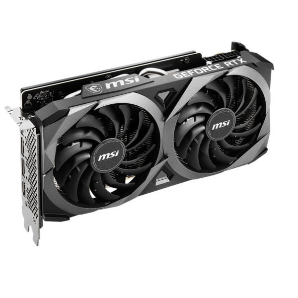 MSI - GeForce RTX 3070 VENTUS 2X OC - 8GB - GDDR6 - Grafikkarte (602-V390-08S) - Bulk