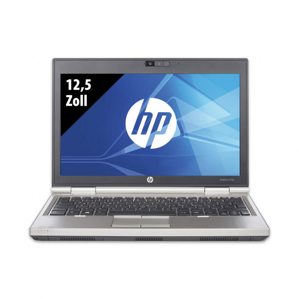 HP EliteBook 2570p - 12,5 Zoll - Core i7-3520M @ 2,9 GHz - 8GB RAM - 250GB SSD - WXGA (1366x768) - Win10Home