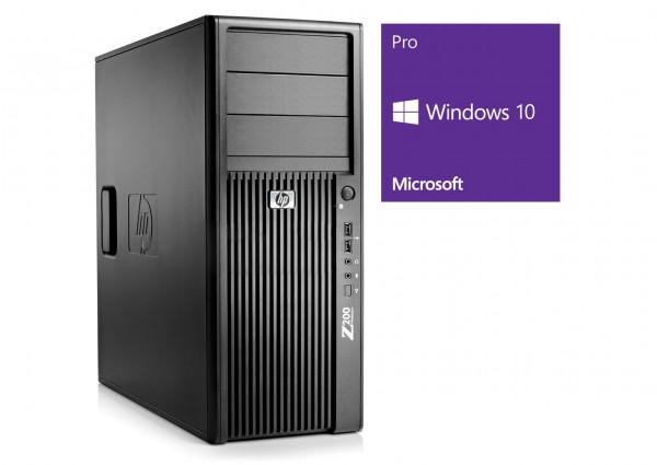 HP Workstation Z200 MT - Core i7-870 @ 2,93 GHz - 8GB RAM - 500GB HDD - DVD-RW - V3800 - Win10Pro