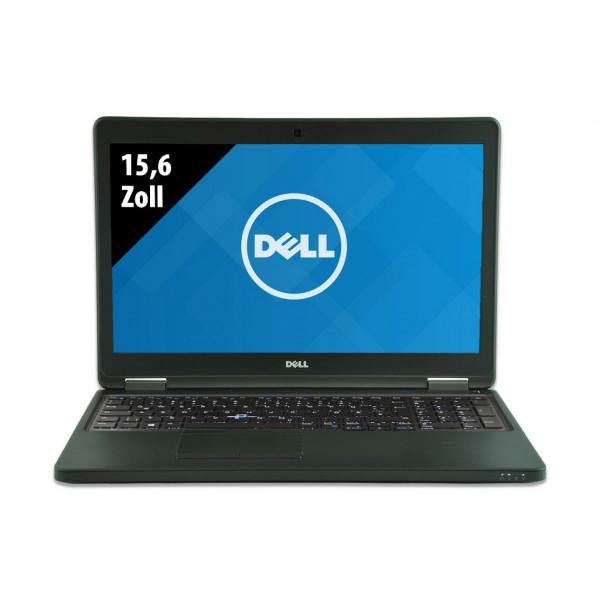 Dell Latitude E5550 - 15,6 Zoll - Core i5-5300U @ 2,3 GHz - 8GB RAM - 250GB SSD - FHD (1920x1080) - Webcam - Win10Pro