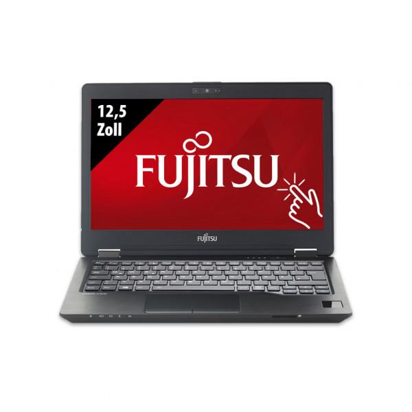 Fujitsu LifeBook U729X - 12,5 Zoll - Core i5-8365U @ 1,6 GHz - 8GB RAM - 250GB SSD - FHD (1920x1080) - Touch - Webcam - Win10Pro - Inkl. Port-Replikator