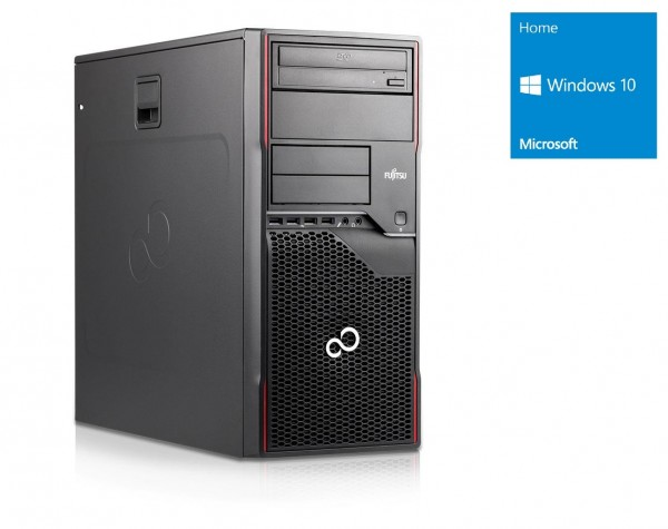 Fujitsu W410 - Core i3-2120 @ 3,3 GHz - 4GB RAM - 500GB HDD - DVD-ROM - Win10Home