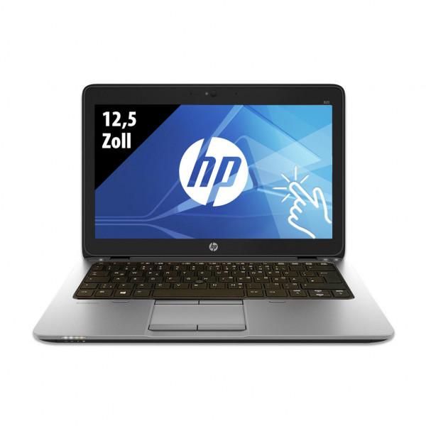 HP EliteBook 820 G3 - 12,5 Zoll - Core i5-6300U @ 2,4 GHz - 8GB RAM - 250GB SSD - FHD (1920x1080) - Webcam - Touch - Win10Home
