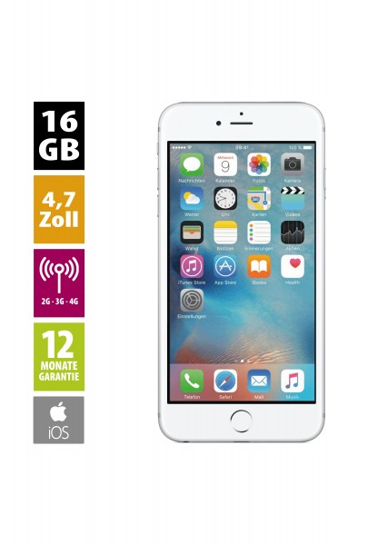 Apple iPhone 6 (16GB) - Silver