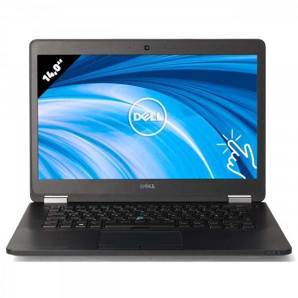 Dell Latitude E7470 - 14,0 Zoll - Core i5-6300U @ 2,4 GHz - 16GB RAM - 250GB SSD - QHD (2560x1440) - Touch - Webcam - Win10Pro
