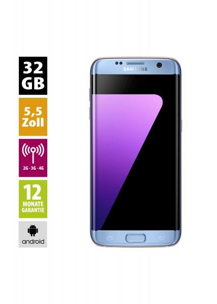 Samsung Galaxy S7 Edge (32GB) - Blue Coral