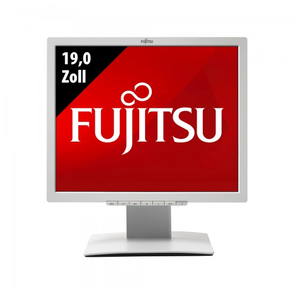 Fujitsu Display B19-7 LED - 19,0 Zoll - SXGA (1280x1024) - 5ms - weiß