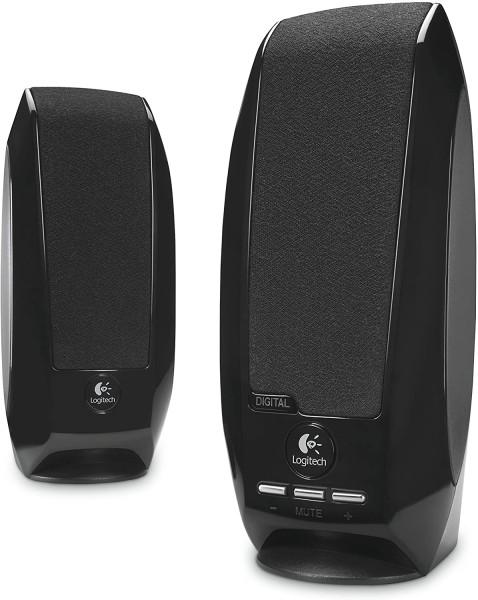 Logitech S150 Digital USB Stereo-Lautsprechersystem - schwarz