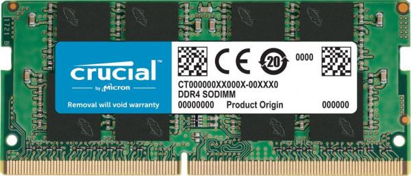 Crucial - 4GB - SODIMM - DDR4 - 2400MHz - CL17 - RAM