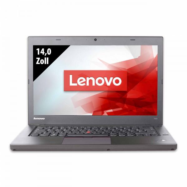 Lenovo ThinkPad T450 - 14,0 Zoll - Core i5-5300U @ 2,3 GHz - 8GB RAM - 250GB SSD - WXGA (1366x768) - Webcam - Win10Pro