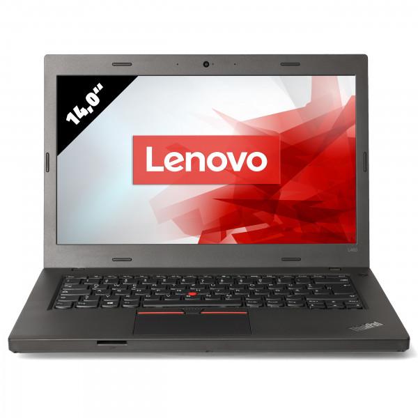 Lenovo ThinkPad L460 - 14,0 Zoll - Core i5-6300U @ 2,4 GHz - 8GB RAM - 250GB SSD - FHD (1920x1080) - Webcam - Win10Pro