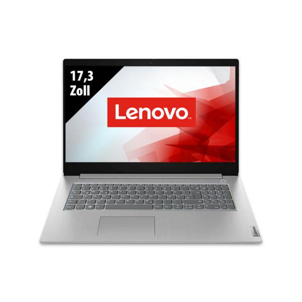 Lenovo IdeaPad 3 Platinum Grey - 17,3 Zoll - Core i3-1005G1 @ 1,2 GHz - 8GB RAM - 500GB SSD - FHD (1920x1080) - Webcam - Win10Home