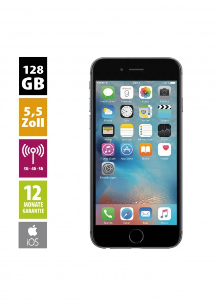 Apple iPhone 6 Plus (128GB) - Space Gray