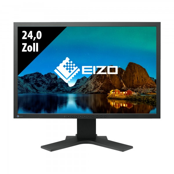 Eizo FlexScan S2402W - 24,0 Zoll - WUXGA (1920x1200) - 5ms - schwarz