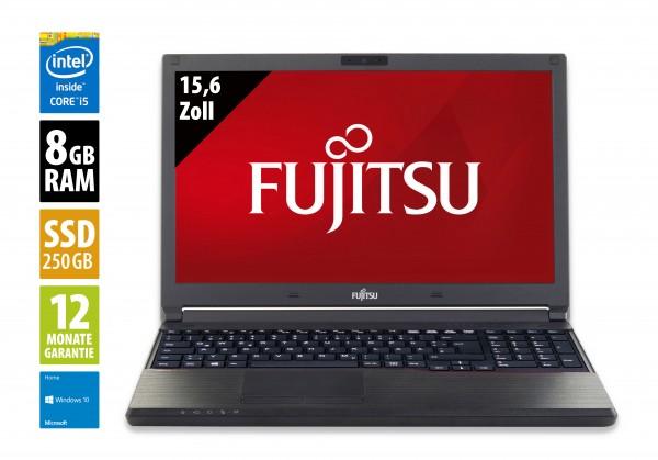 Fujitsu LifeBook E554 - 15,6 Zoll - Core i5-4210M @ 2,6 GHz - 8GB RAM - 250GB SSD - DVD-RW - FHD (1920x1080) - Webcam - Win10Home
