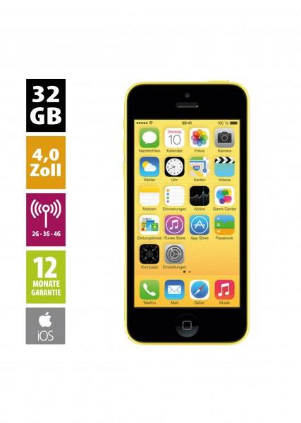 Apple iPhone 5c (32GB) - Yellow