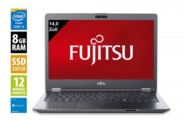 Fujitsu LifeBook U747 - 14,0 Zoll - Core i5-6200U @ 2,3 GHz - 8GB RAM - 500GB SSD - FHD (1920x1080) - Win10Home
