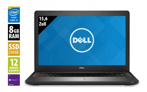 Dell Latitude 3580 - 15,6 Zoll - Core i5-7200U @ 2,5 GHz - 8GB RAM - 250GB SSD - WXGA (1366x768) - Webcam - Win10Pro