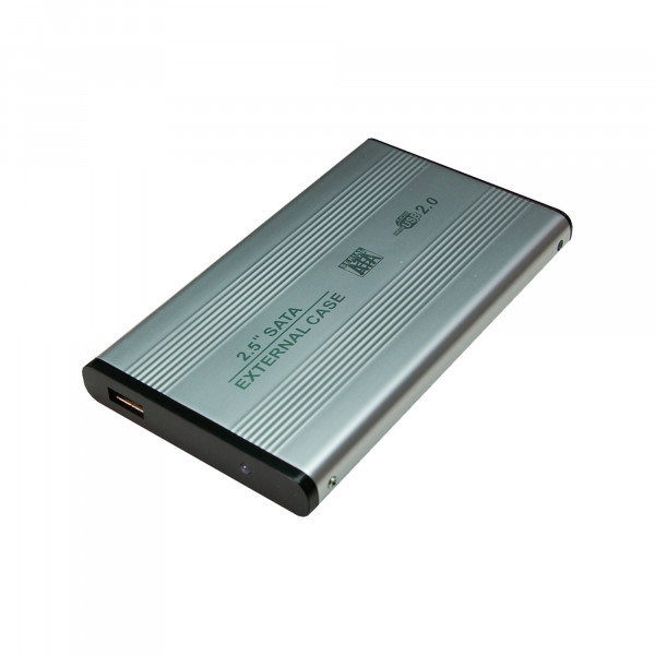 Logilink 2,5 SATA HDD Festplattengehäuse USB 2.0 - SATA-150 - 150 MBps - USB 2.0 - (UA0041A)