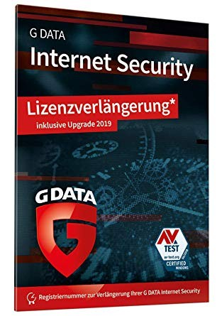 G Data Internet Security 2019 Upgrade - 1 PC / 1 Jahr