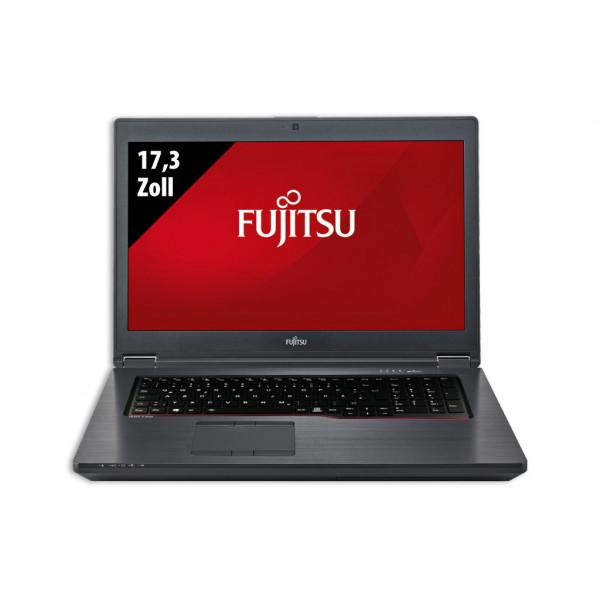 Fujitsu Celsius H980 - 17,3 Zoll - Core i7-8850H @ 2,6 GHz - 32GB RAM - 1000GB SSD - 500GB HDD - Nvidia Quadro P3200 - FHD (1920x1080) - Webcam - Win10Pro