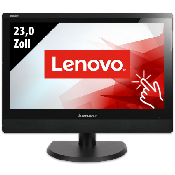 Lenovo ThinkCentre M93z - All-in-One-PC - 23,0 Zoll - Core i5-4570S @ 2,9 GHz - 8GB RAM - 500GB SSD - DVD-RW - FHD (1920x1080) - Touch - Win10Pro