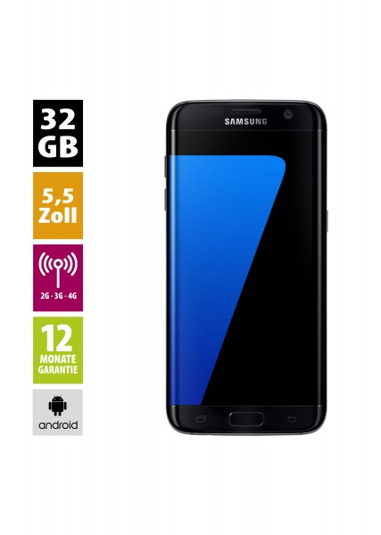 Samsung Galaxy S7 Edge (32GB) - Black Onyx