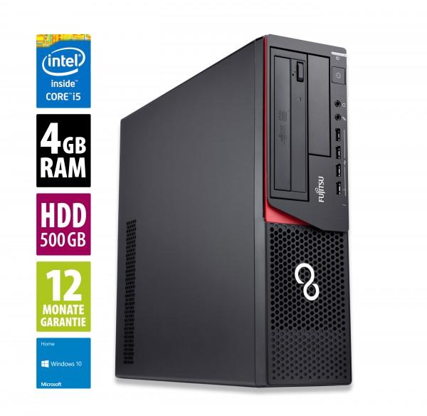 Fujitsu Esprimo E920 DT - Core i5-4570 @ 3,2 GHz - 4GB RAM - 500GB HDD - DVD-RW - Win10Home