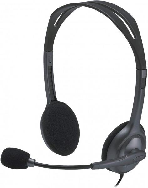 Logitech H111 - Headset - schwarz