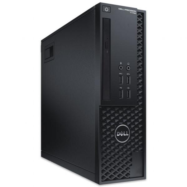 Dell Precision T1700 SFF - Xeon E3-1226 v3 @ 3,3 GHz - 32GB RAM - 250GB SSD - DVD-ROM - Win10Pro