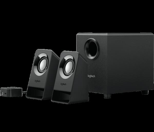 Logitech Z213 - Lautsprechersystem - schwarz