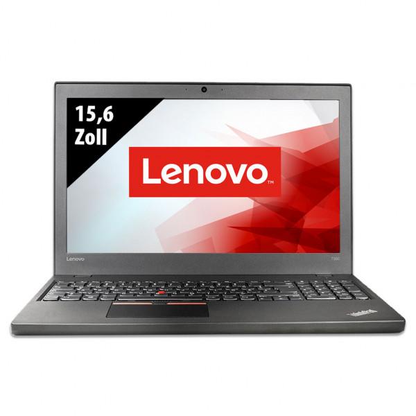 Lenovo ThinkPad T560 - 15,6 Zoll - Core i5-6300U @ 2,4 GHz - 8GB RAM - 500GB SSD - FHD (1920x1080) - Webcam - Win10Pro