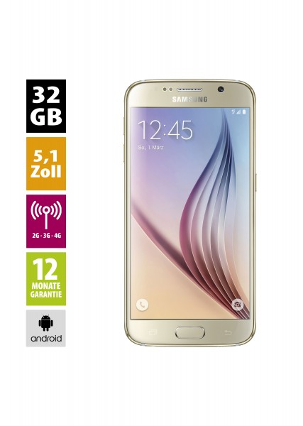 Samsung Galaxy S6 (32GB) - Gold Platinum
