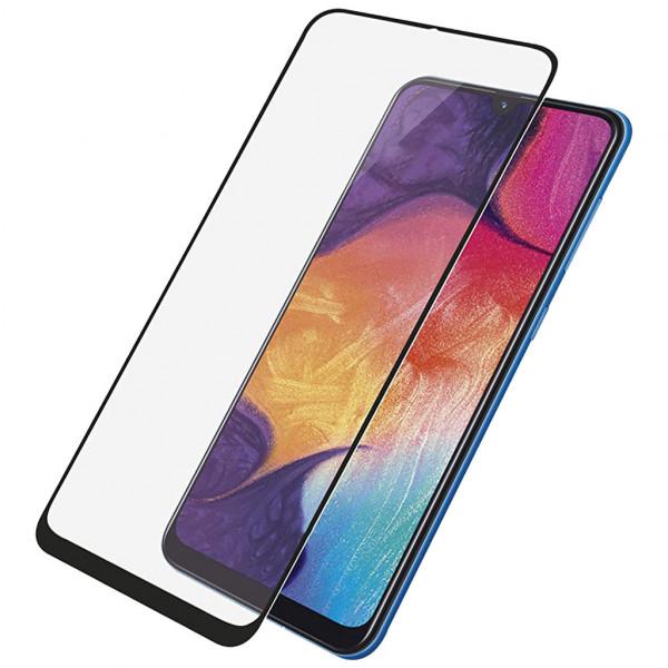PanzerGlass - Displayschutzfolie (Samsung Galaxy A50) - Edge-to-Edge - Schwarz