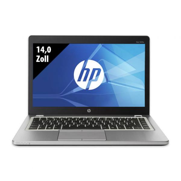 HP EliteBook Folio 9470m - 14,0 Zoll - Core i5-3437U @ 1,9 GHz - 16GB RAM - 250GB SSD - WXGA (1366x768) - Win10Pro