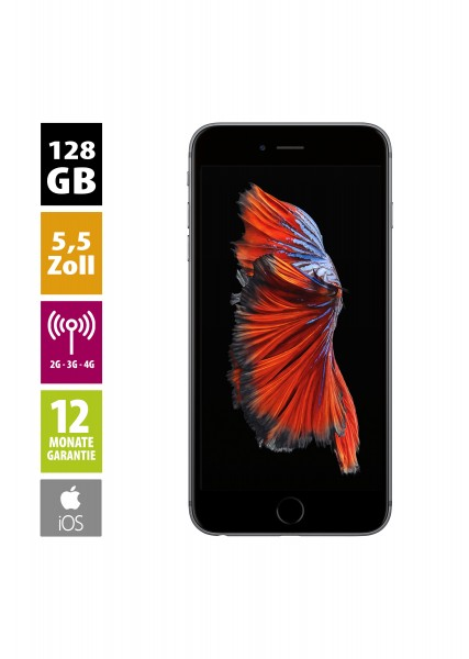 Apple iPhone 6s Plus (128GB) - Space Gray