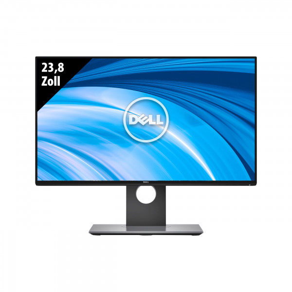 Dell U2417H - 23,8 Zoll - FHD (1920x1080) - 6ms - schwarz/silber
