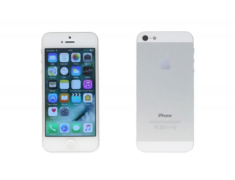 apple iphone 5 a1429 16gb silber ohne simlock. Black Bedroom Furniture Sets. Home Design Ideas